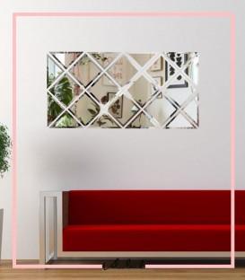 آینه طرح کارلا سفید
