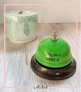 زنگ سفارش سبزمشکی smile