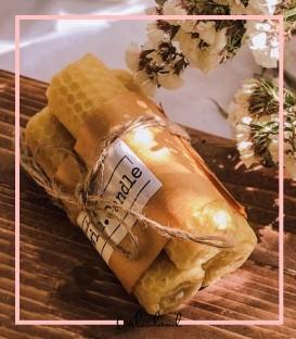 شمع موم عسل زرد معطر