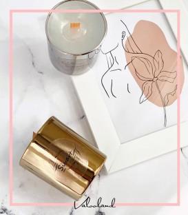 شمع لیوانی طلایی