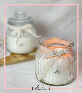 شمع بانکه سفید بزرگ