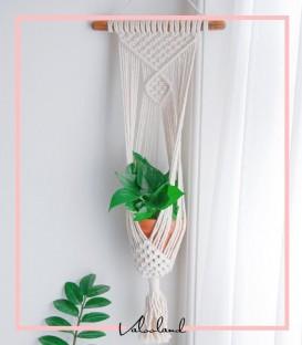 آویز گلدان دیواری مکرومه