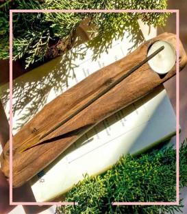جا عودی چوبی تنه درختی