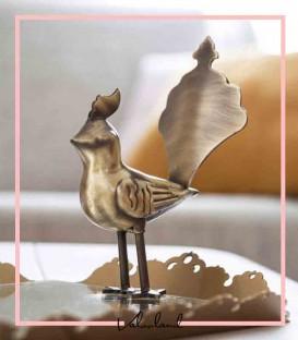 سینی دکوری آینه ای دو پرنده آبتین