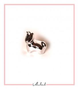 مجسمه اسب شاخدار نشسته کوچک