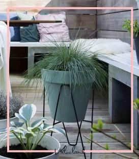 پایه گلدان فلزی دهکده سبز