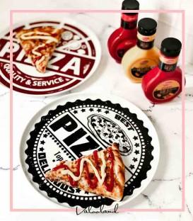دیس چینی سرو پیتزا