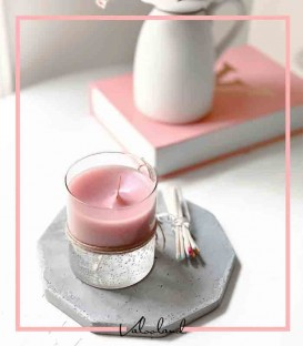 شمع لیوانی ژله ای سویا