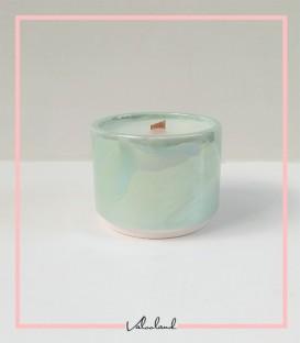 شمع معطر سرامیکی گیاهی