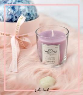 شمع لیوانی معطر شیشه ای