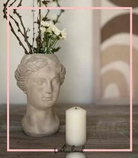 گلدان دکوری پلی استر مینیمال