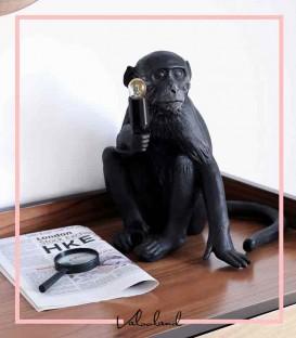 آباژور رومیزی طرح میمون