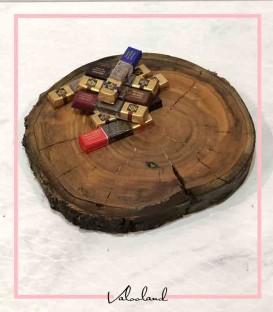 تخته سرو دایره چوبی