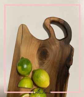 تخته سرو چوبی دسته دار