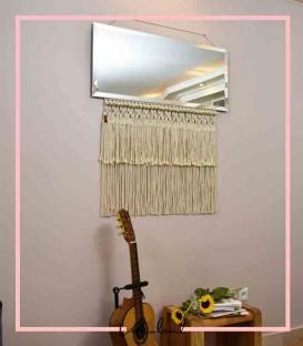 آینه دیوارکوب آتیه مستطیلی