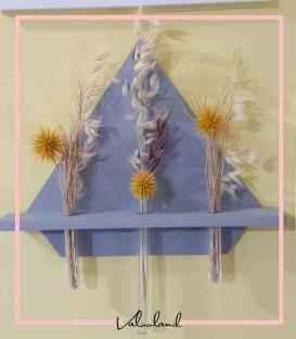 گلدان دکوری دیواری چوبی