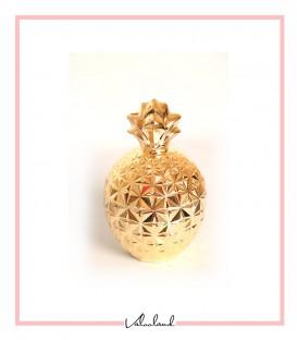 شکلات خوری آناناسی شیشه ای طلایی