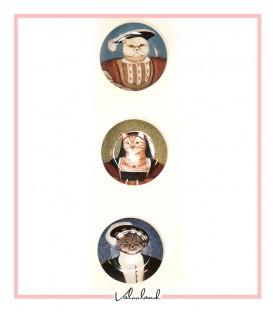 ست بشقاب دیواری گربه اشرافی