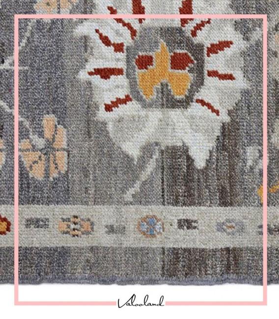فرش کناره دستبافت 4.60 متری سلطان آباد سبک عرسین