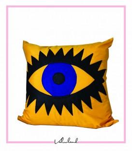 کوسن طرح چشم زرد